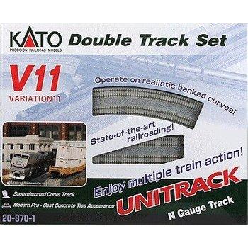 Kato N V11 Double Track set # 20-870-1