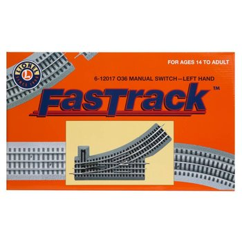Lionel O Fastrack Manual O36 Switch (Left Hand) # 6-12017 #TOTES1