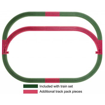 Lionel O Outer Passing Loop Track Pack # 6-12031