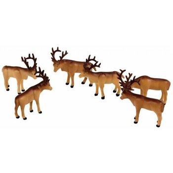 Lionel O Polar Express Caribou Figures # 6-24251