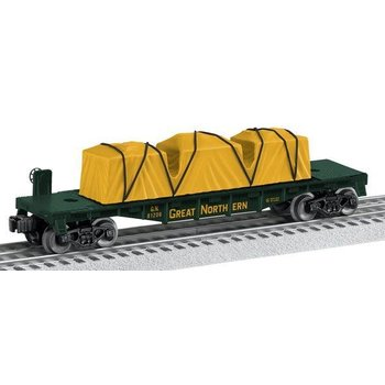 Lionel O Great Northen Flatcar Made in USA # 6-81206 #TOTES1