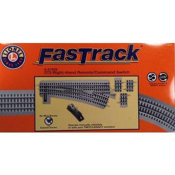 Lionel O Fastrack Right Hand 072 Remote / Command Switch # 6-81952