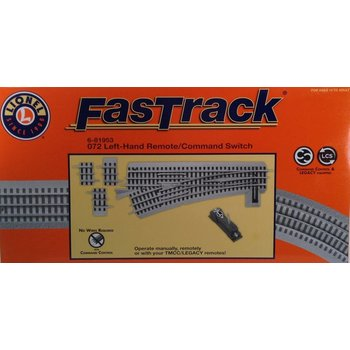 Lionel O Fastrack Left Hand 072 Remote / Command Switch # 6-81953