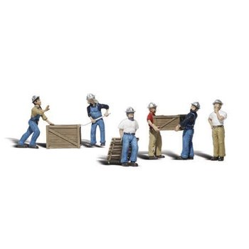 Woodland Scenics O 2729 DOCK WORKERS