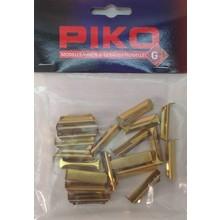 Piko Metal Rail Joiner, 20 Pieces # 35290 #TOTES1