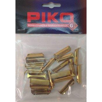 Piko Metal Rail Joiner, 20 Pieces # 35290