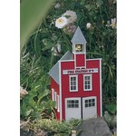 Piko G Scale Fire Station No.9 Kit # 62214