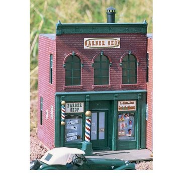 "Brand New Piko G Scale ""David's"" Freseurgeschaft Barber Shop # 62219"