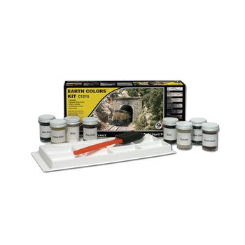 Woodland Scenics 1215 Earth Color Kit