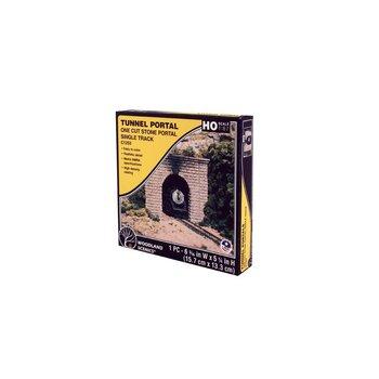 Woodland Scenics HO Cut Stone Portal Tunnel # 1253