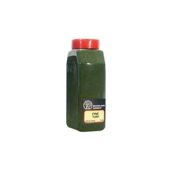 Woodland Scenics Shaker Fine Turf Green Grass 32 oz # 1345