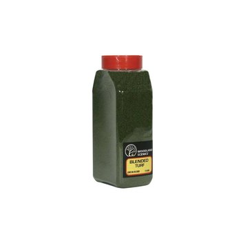 Woodland Scenics Shaker Blended Turf Green # 1349