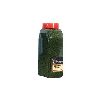 Woodland Scenics Shaker Coarse turf Medium Green # 1364