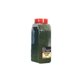 Woodland Scenics Shaker Dark Green Coarse Turf  # 1365