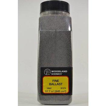 Woodland Scenics Shaker Gray Ballast # 1375