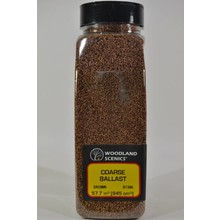 Woodland Scenics Shaker Brown Coarse Ballast # 1386