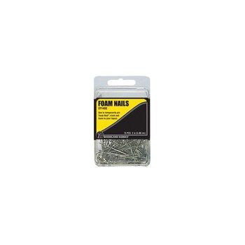 "Woodland Scenics Foam Nails-2"""" 75pc # 1432"
