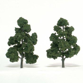"Woodland Scenics 1518 Medium Green Trees 7"" to 8 # 1518"" (2)"