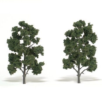 "Woodland Scenics Medium Green Trees 8"" to 9 # 1519"