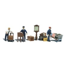 Woodland Scenics O Depot Workers # 2757