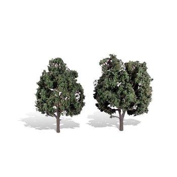 "Woodland Scenics Cool shad Trees 5"" to 6"" Tall # 3514"