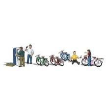 Woodland Scenics Bicycle Buddies # 2752