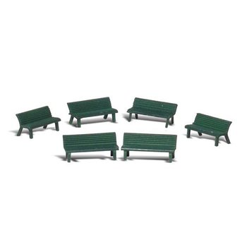 Woodland Scenic Ho Park Benches # 1879