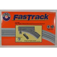 Lionel O36 Remote/Command FasTrack Switch RH # 6-81947