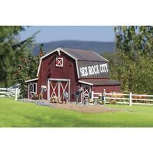 Piko G Red American Barn Kit # 62110