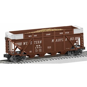 Lionel O Western Maryland #2945 Wood Chip Hopper # 6-82344