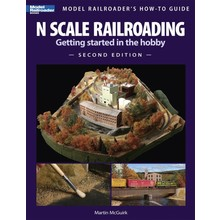 Kalmbach Book N Scale Railroading, Getting Started in the Hobby, Second Edition # 12428