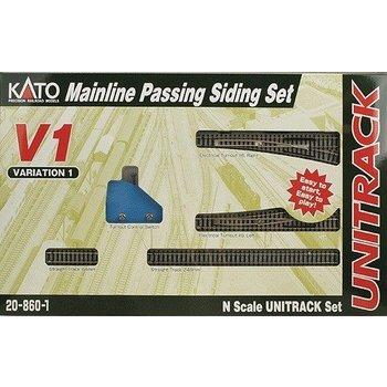 Kato Unitrack V1 Set Mainline Passing Siding Set # 20-860-1 # TOTE1