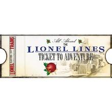 Lionel Lines Ticket to Adventure # 9-22051