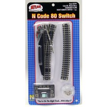 Atlas Standard Line Remote Switch #4 Right Hand # 2701
