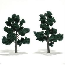 "Woodland Scenics Dark Green 5""-6"" Trees # 1514"
