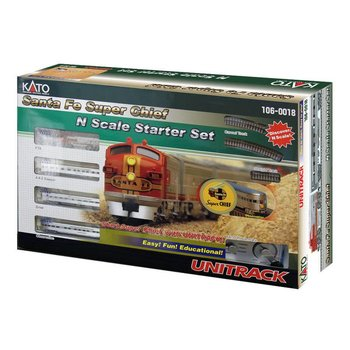 Kato N Santa Fe Super Chief Set # 106-0018