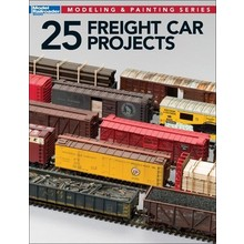 Kalmbach 25 Freight Car Projects # 12498 # TOTE1