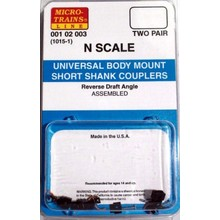 Micro Trains N Universal Body Mount Couplers # 1015-1