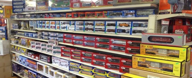 Trains on Tracks Store