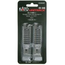 Kato N 62mm Straight w/Bumper A/ (2pc) 20-046