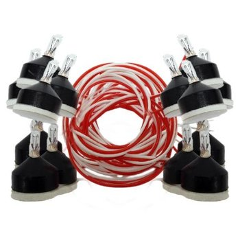 Model Power 15 Pieces Peel N Stick light Bulbs # 511-1