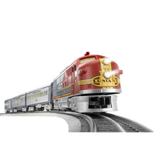 Lionel O Santa Fe Super Chief LionChief Set #6-84719