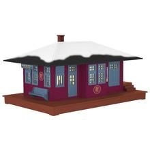 PRE-ORDER Lionel O Gauge The Polar Express Passenger Station #2029050