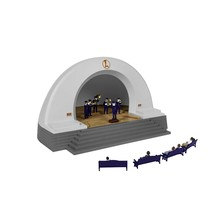 PRE-ORDER Lionel O Gauge Bluetooth Speaker Bandstand #2029020
