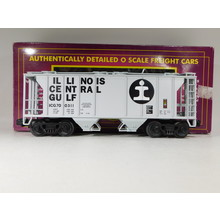Pre-Owned MTH O Gauge Illinois Central PS-2 Hopper Car #20-97104 C#187