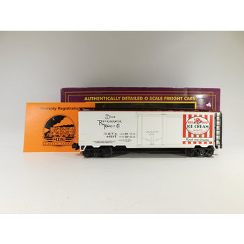 Pre-Owned MTH O Gauge Red Rose Ice Cream Reefer Car #20-94017 C#187
