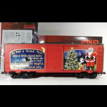 PIKO G Christmas 2020 Boxcar # 38904