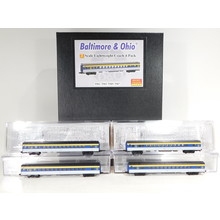 Micro-Trains Z Scale Baltimore & Ohio Lightweight Coach 4-Pack #99400106 #TOTES1
