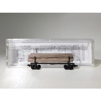 Micro-Trains Line Z Scale 40' Modern Log Car w/ Log Load #53800190 #TOTES1