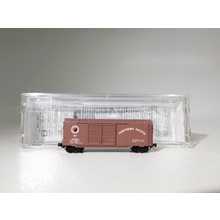 Micro Trains Z Scale Northern Pacific 40' Standard Double Door Boxcar #50100281 #TOTES1